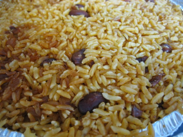 rice + beans