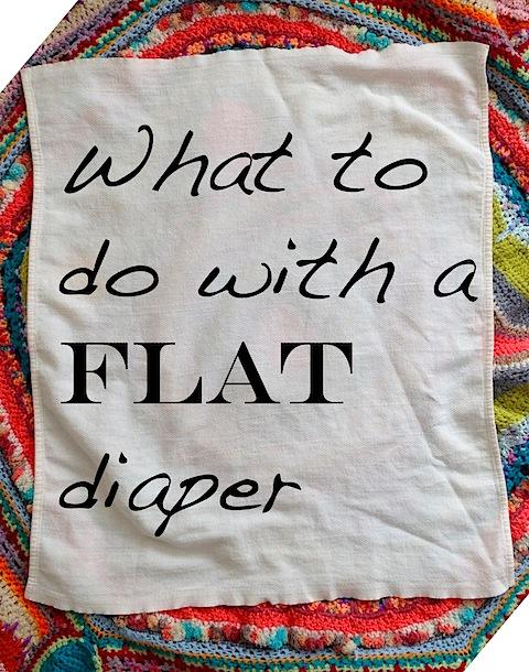 flat diaper